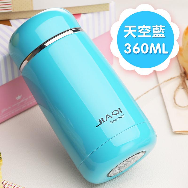 【免運費】韓版清新便攜不鏽鋼長效保溫杯