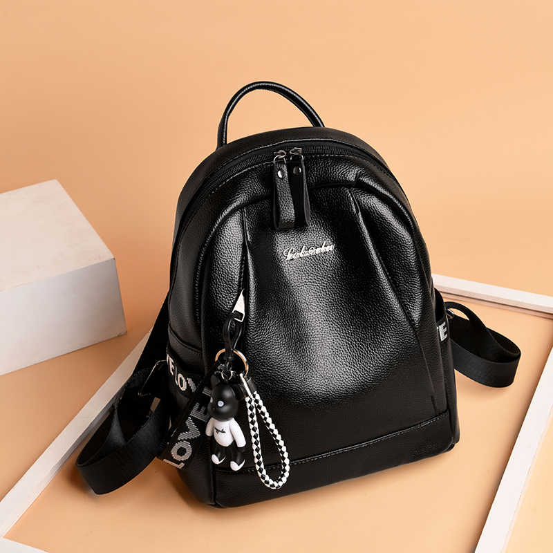 【免運費】新款雙肩包女韓版百搭潮流背包旅行包