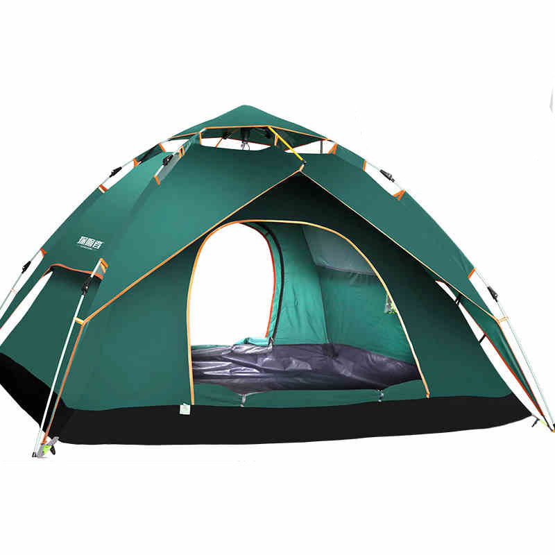 【免運費】全自動液壓彈簧帳篷戶外3-4人野外露營防雨篷