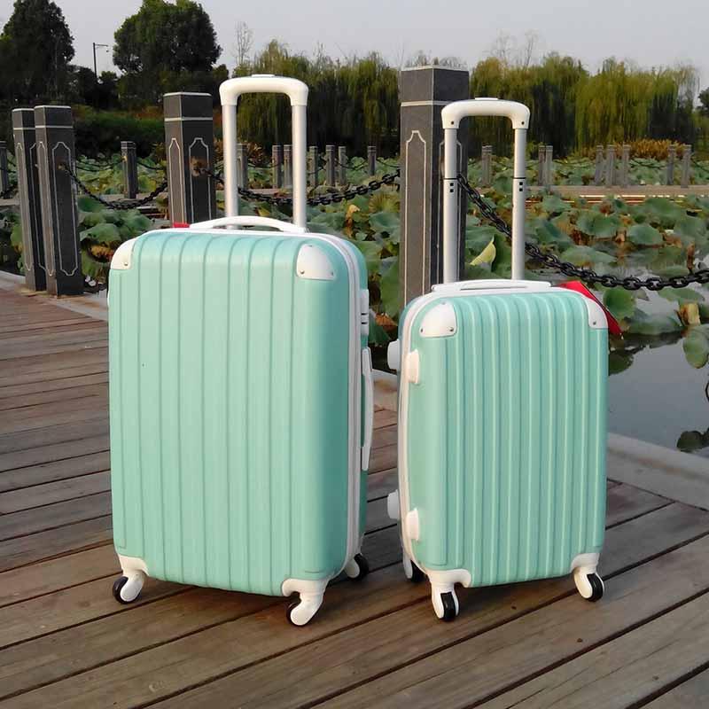 【免運費】24吋萬向輪拉桿登機旅行箱密碼箱免運