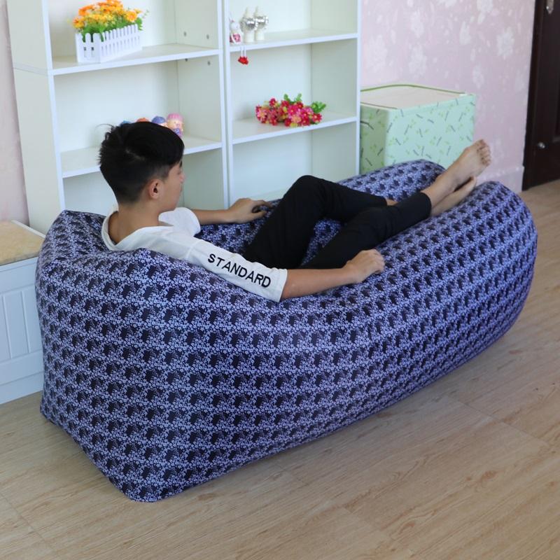 【免運費】戶外便攜快速充氣懶人沙發氣墊床午休空氣沙發