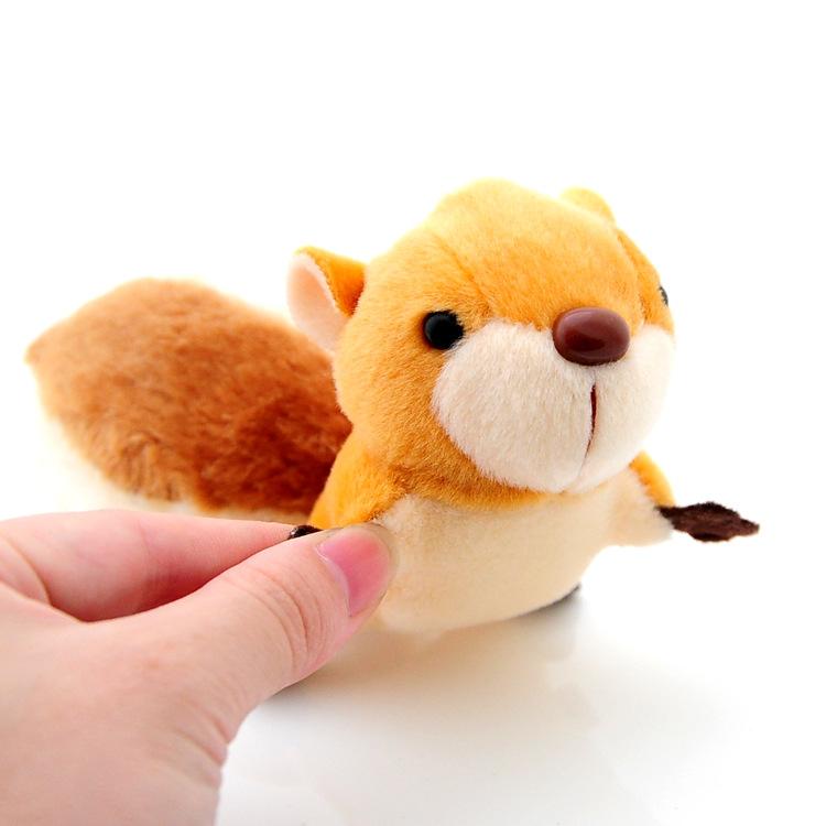 【免運費】小松鼠超大尾巴可愛版型毛絨玩具掛件