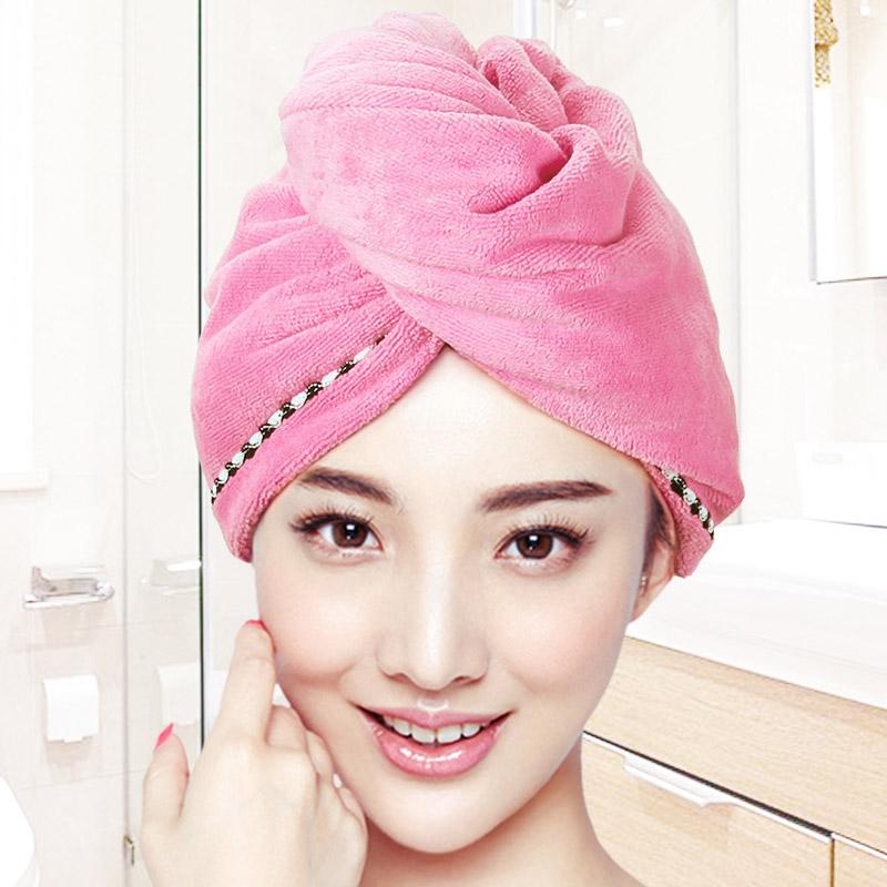 【免運費】超強吸水加厚洗頭毛巾擦頭發速幹包頭巾浴帽