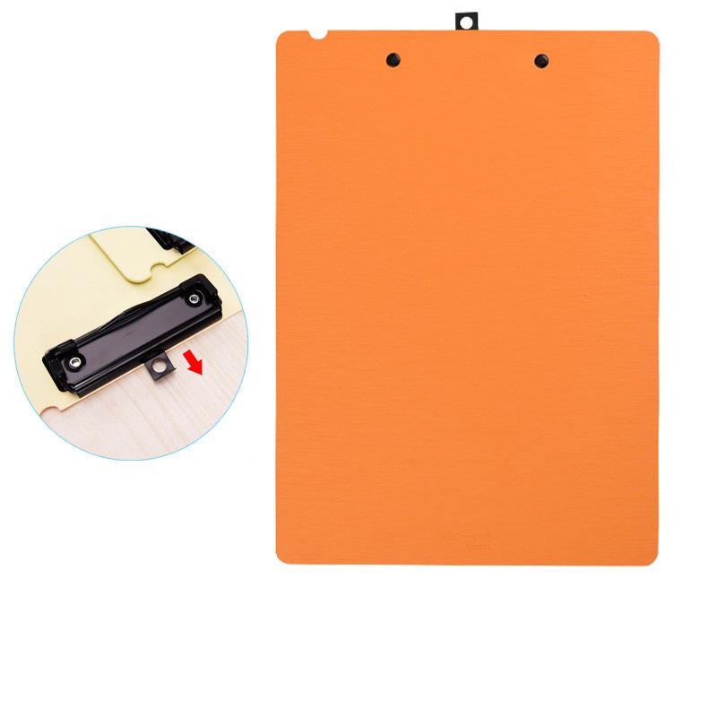 橙色 A4板夾