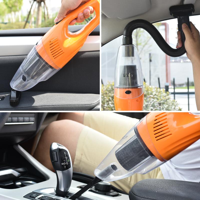 【免運費】車載大功率手持式幹濕兩用強力吸塵器