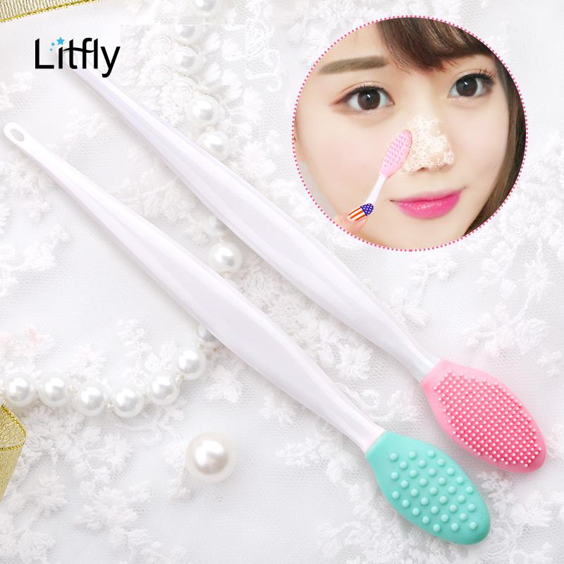【免運費】矽膠三用洗鼻刷去黑頭潔面洗臉刷