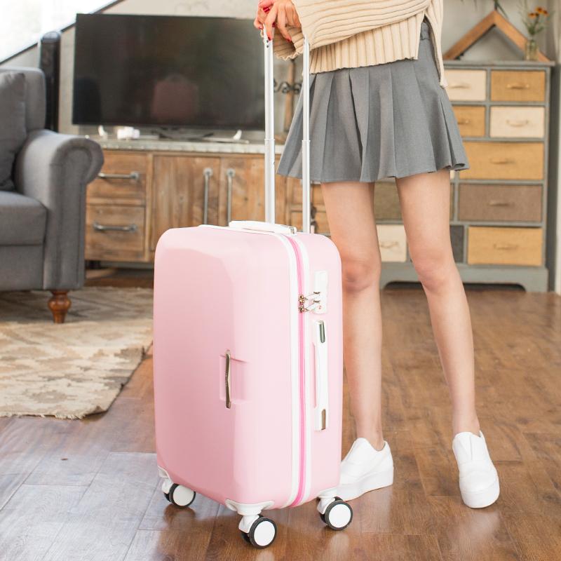 【免運費】韓版小清新萬向輪22吋登機24吋旅行箱行李箱