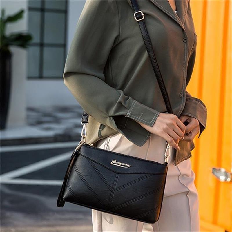 【免運費】新款韓版軟皮斜挎包單肩小包包