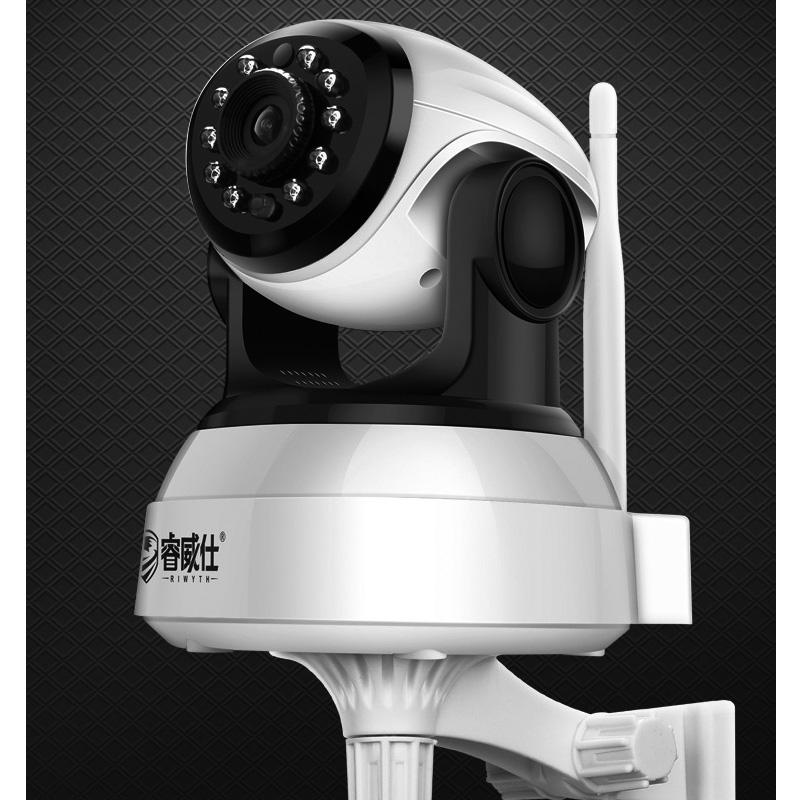【免運費】睿威仕無線攝像頭wifi智能室內家庭手機遠程高清夜視語音對講