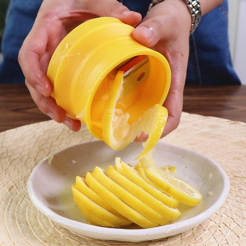 【免運費】螺旋檸檬切片器水果花式切工具