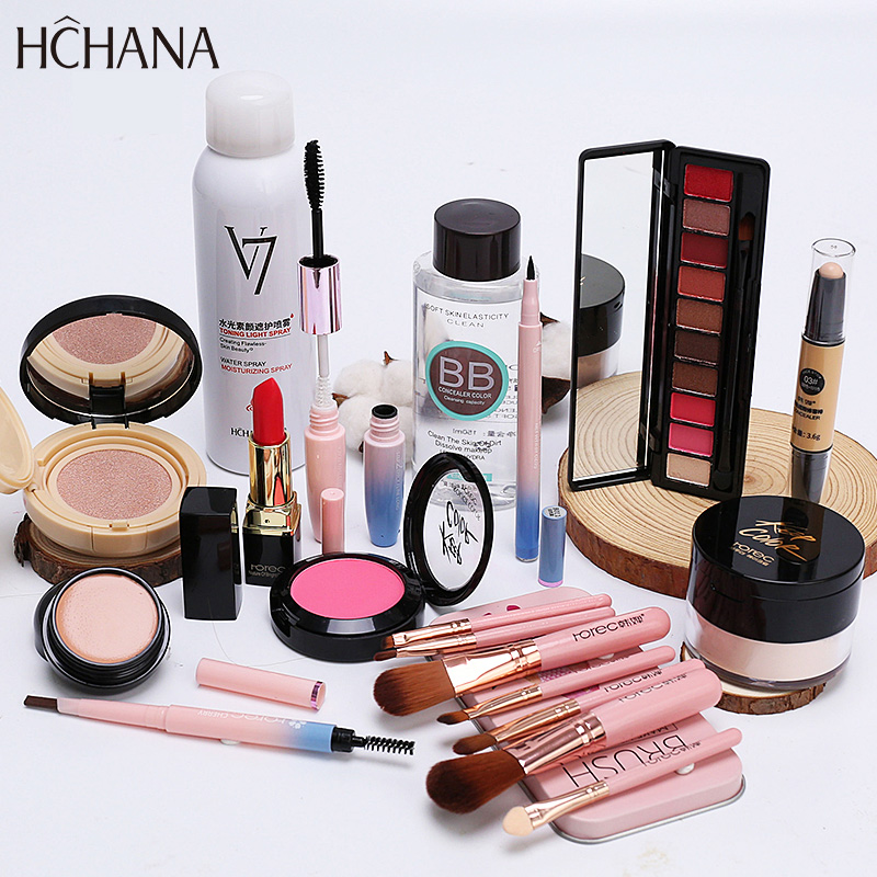 【免運費】彩妝套裝全套組合正品超火化妝品少女淡妝防水持久