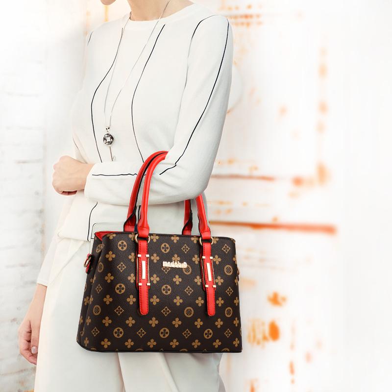 【免運費】時尚新款大氣手提包子母單肩斜挎包