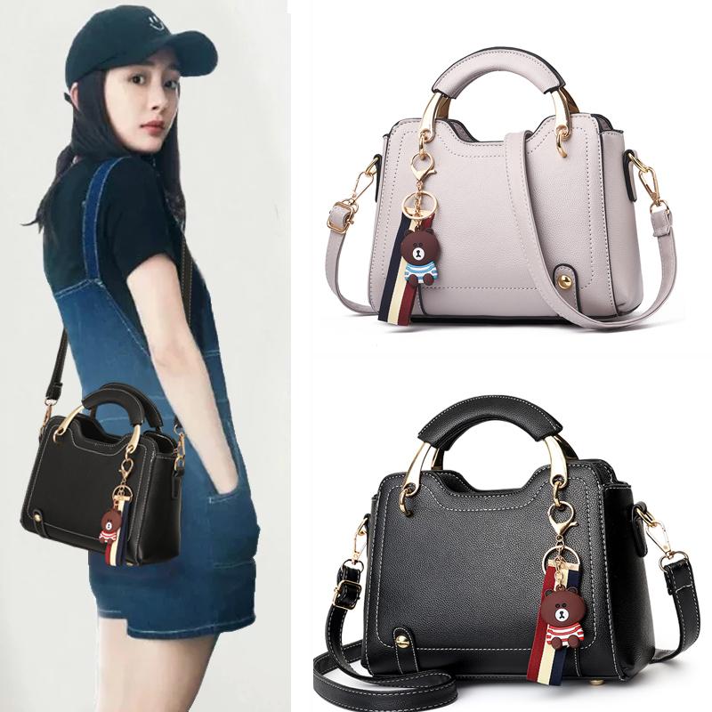 【免運費】新款時尚休閒手提女士包包單肩斜跨包