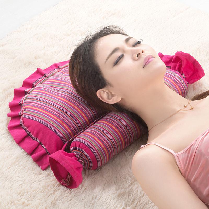 【免運費】成人專用荞麥頸椎枕頭脊椎矯正保健枕芯