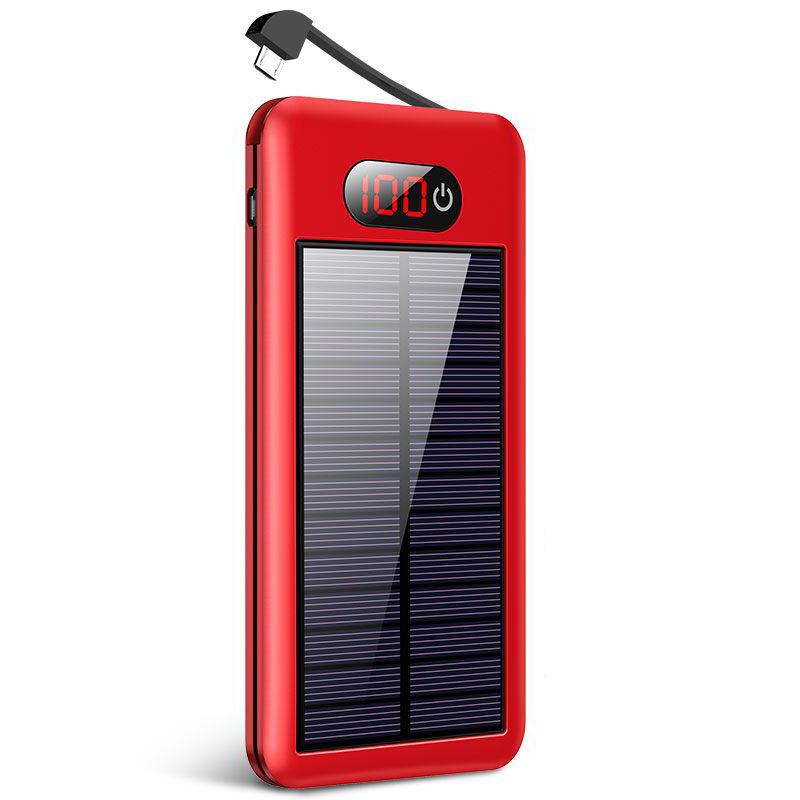 【免運費】 大容量行動電源50000M太陽能充電寶