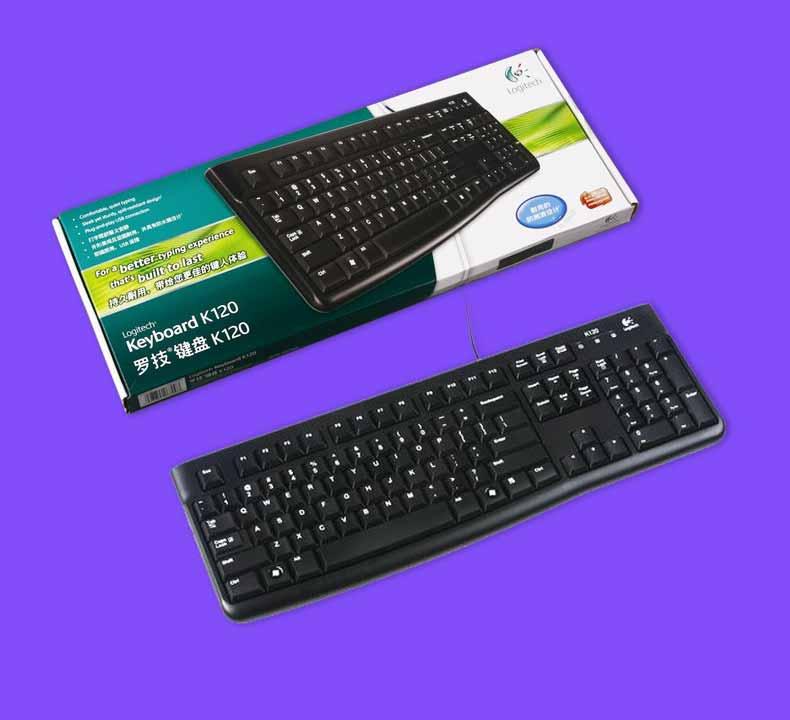 【免運費】辦公遊戲USB筆記本電腦有線鍵盤