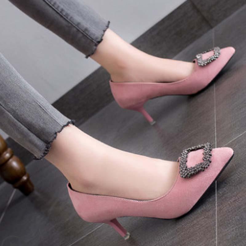 粉色38碼24cm