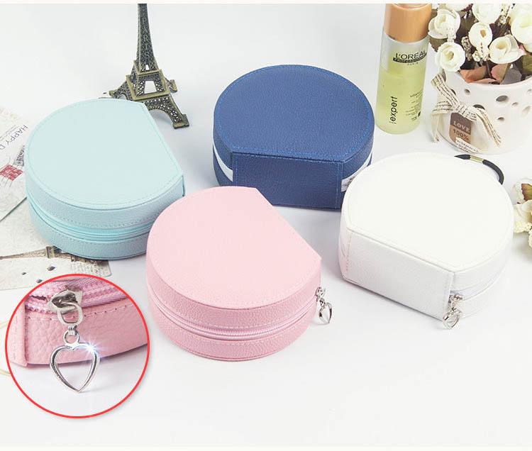 【免運費】時尚韓國耳環耳釘戒指收納盒