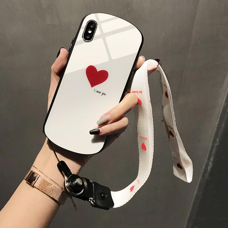 【免運費】蘋果x手機殼iPhone橢圓形愛心