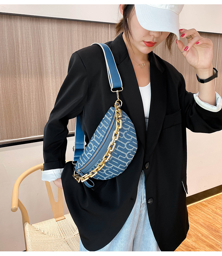 【免運費】新款潮網紅女包胸包女斜跨百搭時尚個性韓版斜挎小包